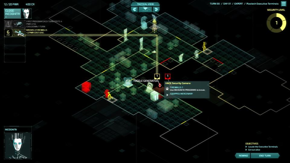 invisible inc how to break multiple firewalls